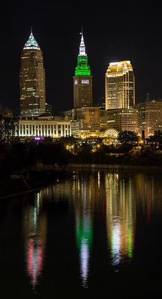 Cleveland Reflections by Dale Kincaid