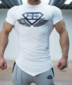 Body Engineers T-Shirt - White/body-engineers aesthetic