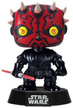 Star Wars fanatics will flip for this Darth Maul bobble-head. Displayed in a window box this adorable vinyl bobble-head is the perfect gift idea for any movie enthusiast. Darth Maul measures 3.75 in...