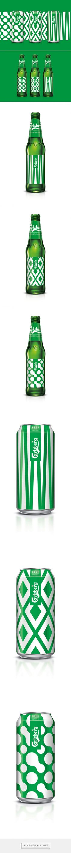 Carlsberg Limited Edition København Collection packaging design by Taxi Studio - http://www.packagingoftheworld.com/2017/01/carlsberg-limited-edition-kobenhavn.html