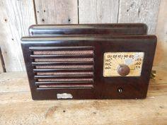 Aircastle 1940's? Bakelite Case Radio ~ Vintage Estate Find