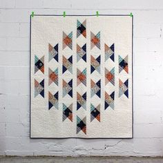 Free Pattern - Field Crossing Quilt by Elizabeth Olwen
