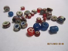 Hudson Bay Company Fur Trade Glass Beads