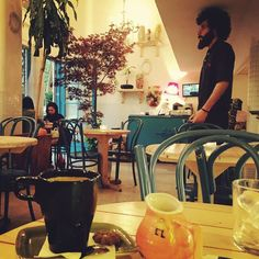 Such a cool little #cafe #cafegodot469 in the middle of #tehran #iran #adele25 playing while I'm sipping #coffee enjoying my last night of being an #americaniniran on #vacation #travel #travellife #traveller #yogottacometoiran by fthowell