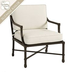 Suzanne Kasler Directoire Lounge Chair