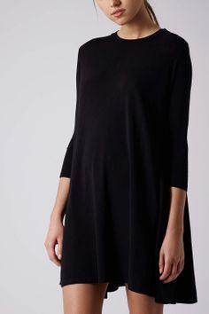 Half Sleeve Swing Dress - Dresses - Clothing - Topshop