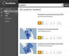 Geospatial data from around the world