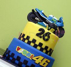 #Valentino #Rossi cake