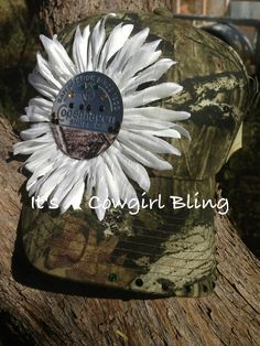 Mossy Oak Custom Bling Hat $15.00