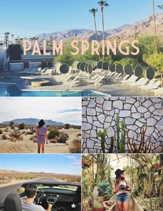 Palm Springs Travel Guide: The Ace Hotel, Le Parker Meridien, Joshua Tree, Moorten Botanical Gardens, Cheeky's, Great Shakes, Mount Jacinto, King's Highway, and more.