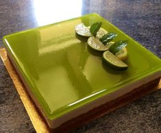 Recette Bavarois Mojito par mjorib - recette de la catégorie Desserts & Confiseries