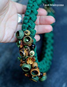 Wonderful art jewelry by Tanya Mayorova
