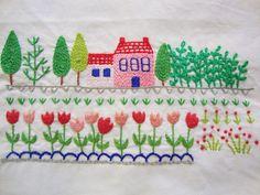 Casa de Retalhos: Cores & flores ♥ Naive embroidery