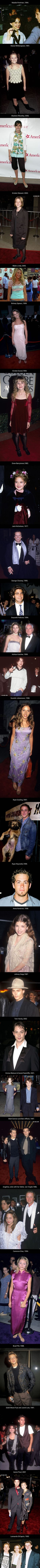 27 Celebrities' Very First Red Carpet Photos