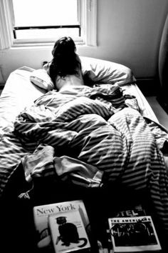 A hole day in bed..