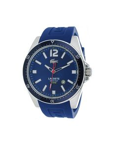lacoste men s borneo watch timezone men watches reloj lacoste seattle blue ref