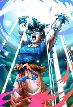 Goku Spirit Bomb card [Bucchigiri Match] by on DeviantArt Dragon Ball Gt, Dragon Ball Image, Wallpaper Do Goku, Super Anime, Goku Super, Art Anime, Animes Wallpapers, Fan Art, Deviantart