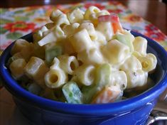 Easy Elbow Macaroni Salad from Food.com:   Can be made ahead, kid friendly, quick and easy. I got this from a pasta website. Nice to make for a BBQ or summer side dish. It's a crowd pleaser! For a full 1 lb. (16 oz.)box of pasta, just double the recipe. I usually make this with regular mayo and milk since that's what I have in the house.