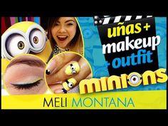 Minions | Arreglate Conmigo | Diseño Uñas, Maquillaje y Outfit | Meli Montana - YouTube
