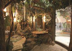 20 easy ways to decorate with fairy lights 42 20 easy ways to decorate with fairy lights 42 Fairytale Bedroom, Fairy Bedroom, Garden Bedroom, Enchanted Forest Bedroom, Nature Bedroom, Fairytale Cottage, Forest Theme Bedrooms, Bedroom Themes, Bedroom Decor
