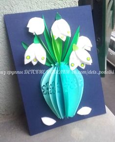 Spring paper flowers crafts for kids card for moms детские поделки Подснежники аппликация из бумаги для д Kinderpapier fertigt Schneeglöckchenapplikationen für Kinder Source by Mothers Day Crafts For Kids, Paper Crafts For Kids, Preschool Crafts, Diy And Crafts, Arts And Crafts, Children Crafts, Paper Flowers Craft, Paper Plate Crafts, Frame Crafts