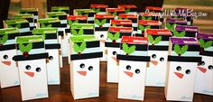 Scrappin with my bug: Christmas Party Juice boxes