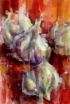 """""""Farmers Market No. 12"""" - Original Fine Art for Sale - © Julie Ford Oliver"""