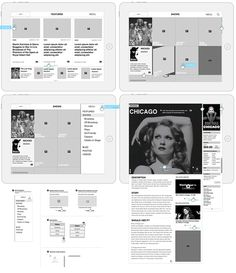 broadway ipad wireframe