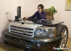 Land Rover Desk