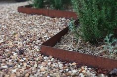 Ever wondered how professional landscapers get that clean and crisp edge around the walkways and flower beds? There's really no secret to it. You just have