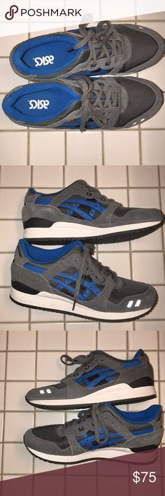 ASICS Men's Blue & Gray Gel Lyte III Never worn - great condition Asics Shoes Athletic Shoes