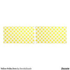 Yellow Polka Dots Pillow Cases Available on many products! Hit the 'available on' tab near the product description to see them all! Thanks for looking!  @zazzle #art #polka #dots #shop #home #decor #bathroom #bedroom #bath #bed #duvet #cover #shower #curtain #pillow #case #apartment #decorate #accessory #accessories #fashion #style #women #men #shopping #buy #sale #gift #idea #fun #sweet #cool #neat #modern #chic #laptop #sleeve #black #orange #blue #yellow #green  #white