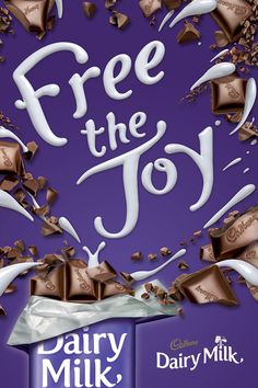 Cadbury Free the Joy Chocolate Advertising Campaign                                                                                                                                                                                 More