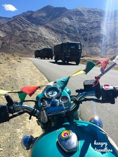 Get on a bike and just go. Ladakh, India.