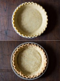 Coconut Oil Pie Crust - Think a perfectly flaky pie crust is impossible without butter? Think again. This pie crust is totally authentic and yet totally dairy free - #vegan #coconutoil