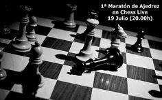 Participa en la 1ª Maratón de Ajedrez en Chess Live, en la cual jugarás durante 2 horas contra cientos de ajedrecistas de todo el mundo de manera gratuita y podrás ganar fantásticos premios.  INFO: http://chesslive.com/blog/2013/07/18/maraton-ajedrez-chess-live/