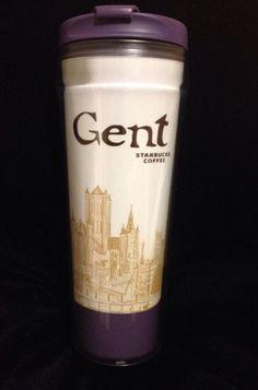 Starbucks Gent Icon Tumbler Mug Belgium St Nicholas Church Ghent New US Ship #Starbucks