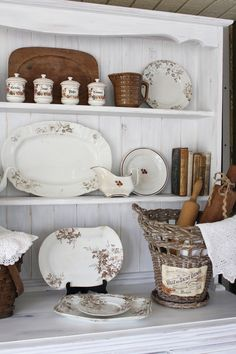 farmhouse-style cupboard re-do