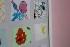 Maman Nougatine DIY: encadrer ses plus jolis dessins. - Maman Nougatine