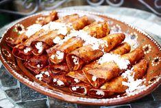 Red Enchiladas: Morelia Style