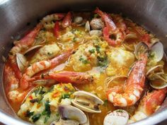 Cocina – Recetas y Consejos Octopus Recipes, Fish Recipes, Seafood Recipes, Mexican Food Recipes, Ethnic Recipes, Spanish Recipes, Pescado Recipe, Kitchen Recipes, Cooking Recipes