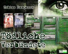 """Tödliche Verbündete - Detektei Damjanov 3"" von Tobias Damjanov ab September 2014 im bookshouse Verlag. www.bookshouse.de/wallpapers/"
