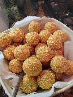 The Parker Project: Vietnamese Sesame Ball Recipe with Pictures