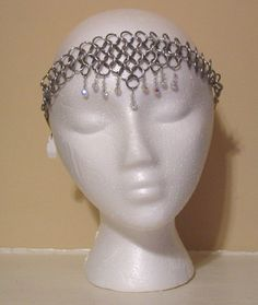 chainmail headpiec, chainmaill