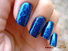 Unhas com Glitter - By Imaginattio
