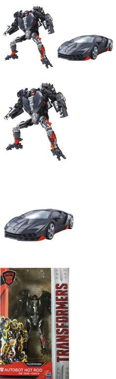 Transformers and Robots 83732: Hasbro Transformers Mv5 The Last Knight Deluxe Class Autobot Hot Rod Figure -> BUY IT NOW ONLY: $35.85 on eBay!