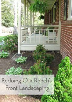 1000 ideas about ranch house landscaping on pinterest ranch style homes ranch style and pool Home selling four diy tricks to maximize the curb appeal