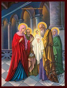Η Yπαπαντή του Χριστού Joseph, Temple, Orthodox Icons, Princess Zelda, Disney Princess, Illustrations, Jesus Christ, Catholic, Disney Characters