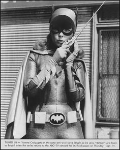 'Batgirl' on 'Batman TV Series' Yvonne De Carlo, Yvonne Craig, Batgirl, Batwoman, Supergirl, Batman Y Robin, Batman 1966, Gotham Batman, Batman Art