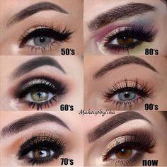 hippie makeup 632403972656349420 - 👁️ Do you love this look? Vicky's Make Up. Credi Source by Mua Makeup, Makeup Inspo, Makeup Inspiration, Makeup Art, Retro Makeup, Vintage Makeup, Rockabilly Makeup, 1980s Makeup And Hair, 1970s Makeup Eyes